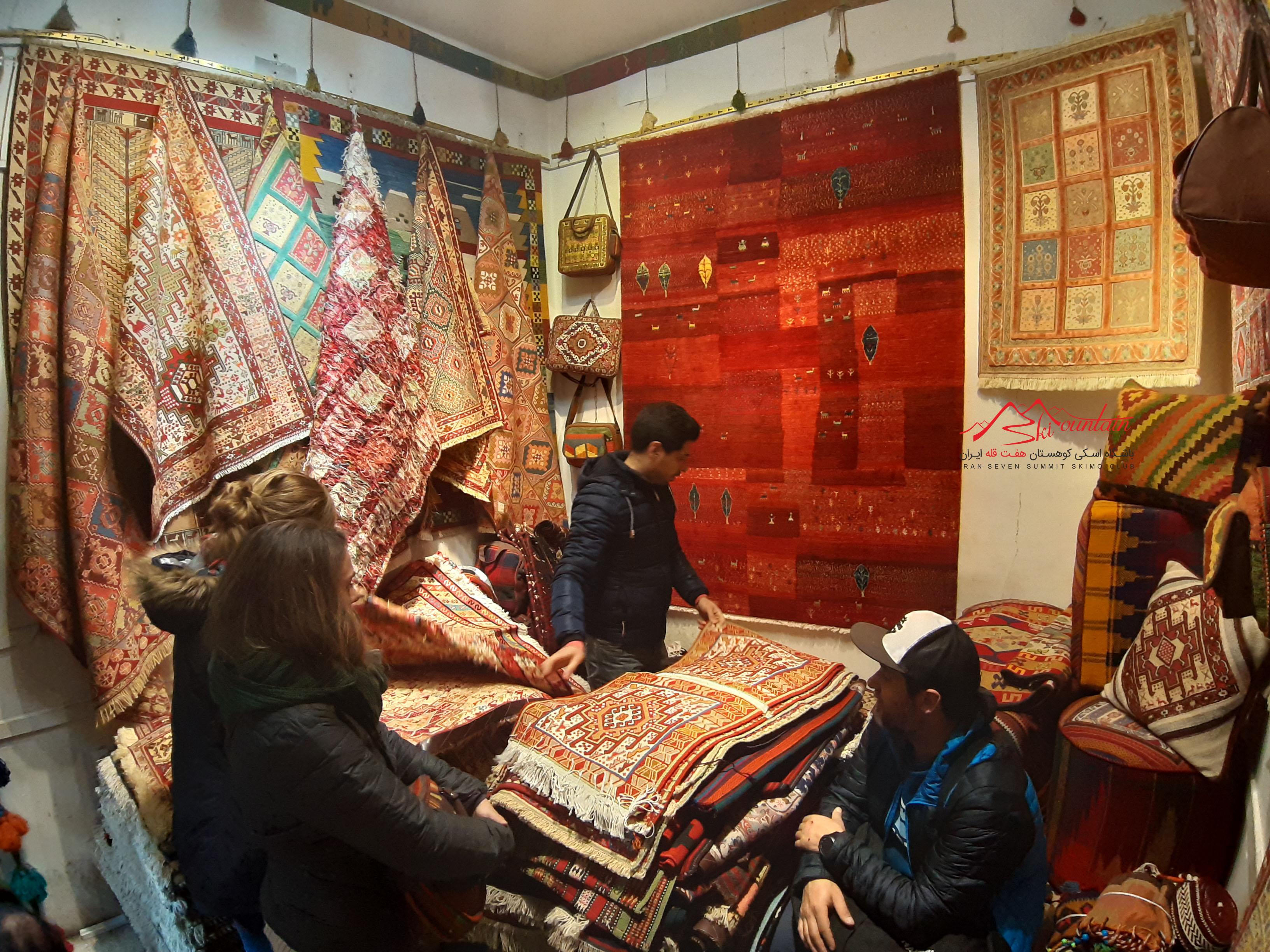 Tehran Carpet Bazar